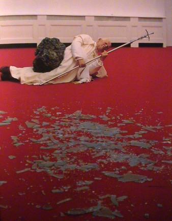 Maurizio Cattelan, La nona ora, 1999